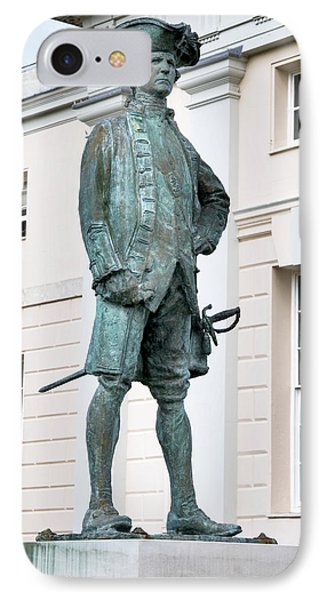 Captain James Cook, British Explorer Phone Case by Sheila Terry