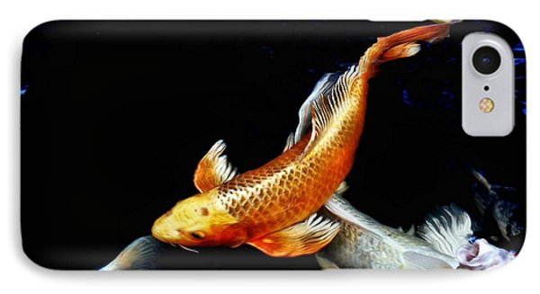 Captain Koi Phone Case by Don Mann