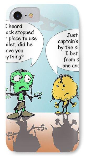 Captains Log Phone Case by Jack Norton