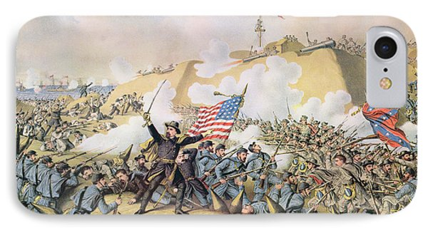 Capture Of Fort Fisher 15th January 1865 IPhone Case