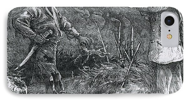 Capture Of Nat Turner, American Rebel Phone Case by Photo Researchers