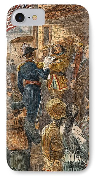 Capture Of Santa Fe, 1846 Phone Case by Granger