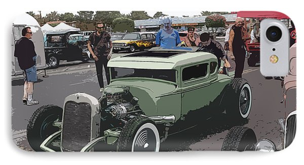 Car Show Coupe Phone Case by Steve McKinzie