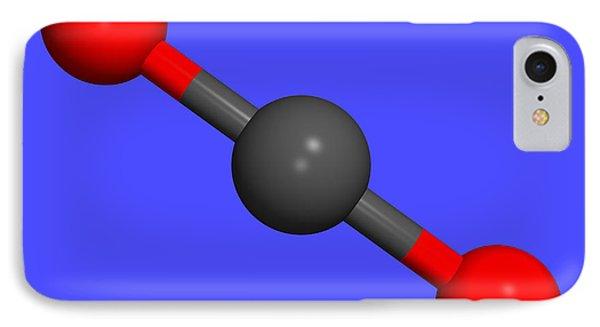 Carbon Dioxide Phone Case by Dr Tim Evans