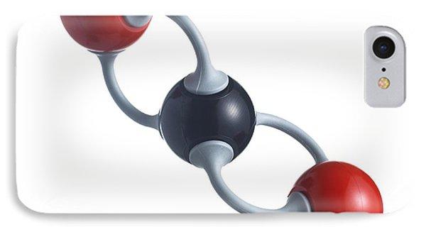 Carbon Dioxide Molecule Phone Case by