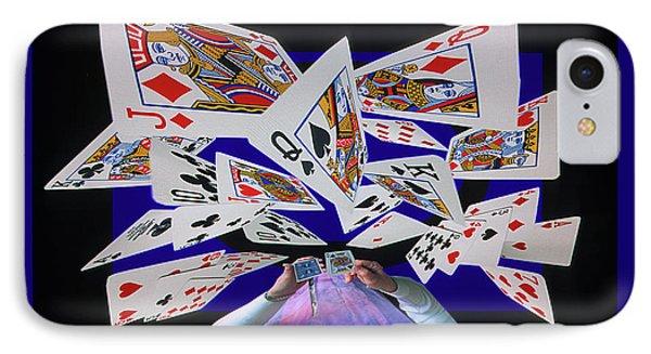 Card Tricks Phone Case by Bob Christopher