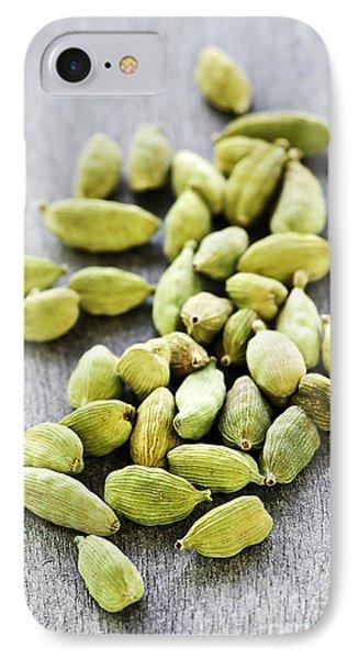 Cardamom Seed Pods Phone Case by Elena Elisseeva