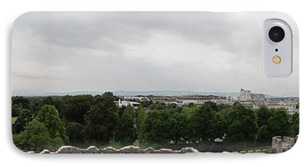 Cardiff Castle Panorama IPhone Case