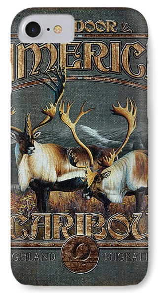 Caribou Phone Case by JQ Licensing
