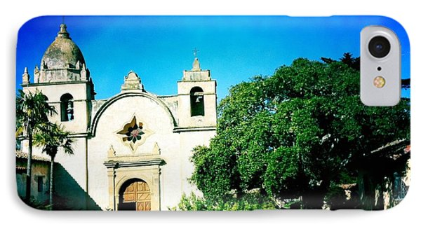 IPhone Case featuring the photograph Carmel Mission by Nina Prommer