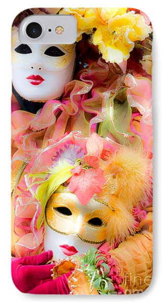 IPhone Case featuring the photograph Carnival Mask by Luciano Mortula