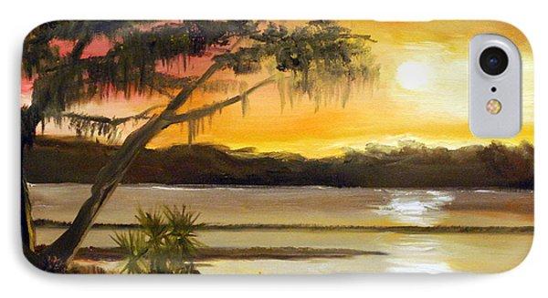 Carolina Sunset Phone Case by Phil Burton