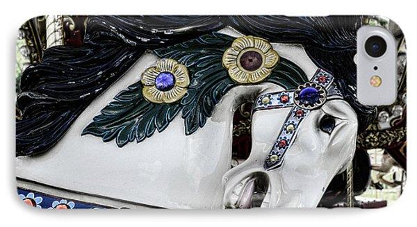 Carousel Horse - 9 Phone Case by Paul Ward