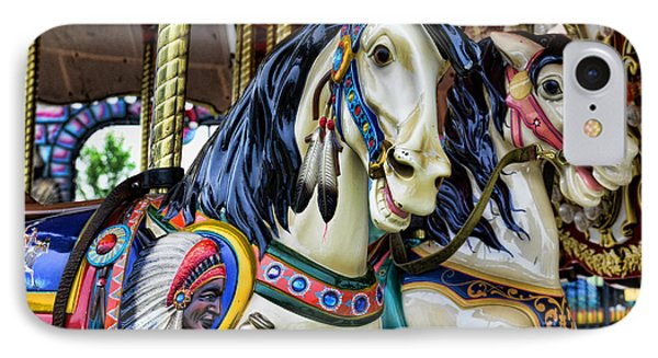 Carousel Horse 2 Phone Case by Paul Ward