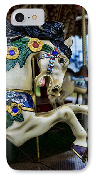 Carousel Horse 5 Phone Case by Paul Ward