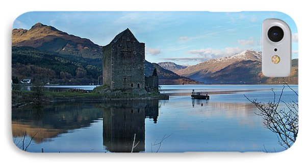 IPhone Case featuring the photograph Carrick Castle by Lynn Bolt