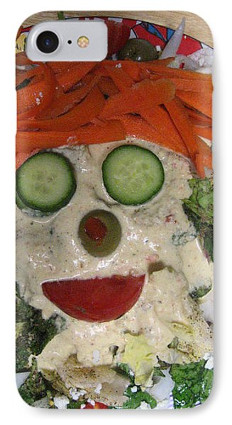 Carrot Top Phone Case by Kym Backland
