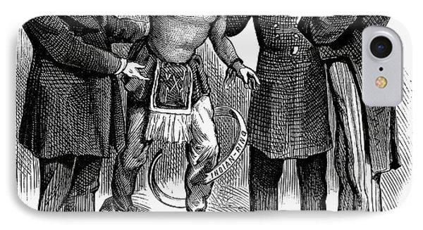 Cartoon: Native Americans, 1876 Phone Case by Granger
