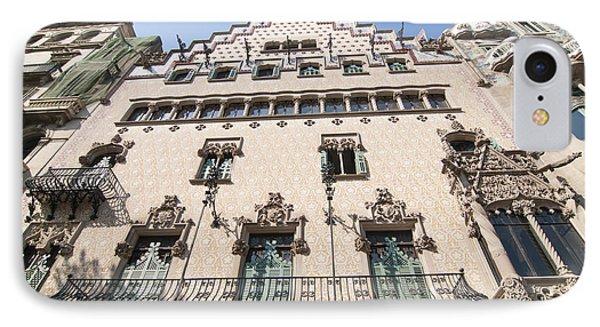Casa Amatller Building Barcelona Phone Case by Matthias Hauser
