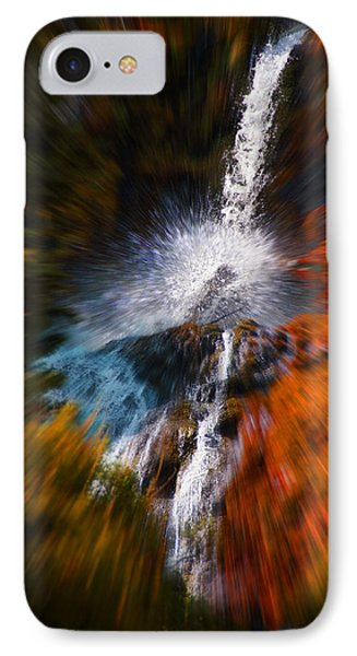 IPhone Case featuring the photograph Cascade Waterfall by Mick Anderson