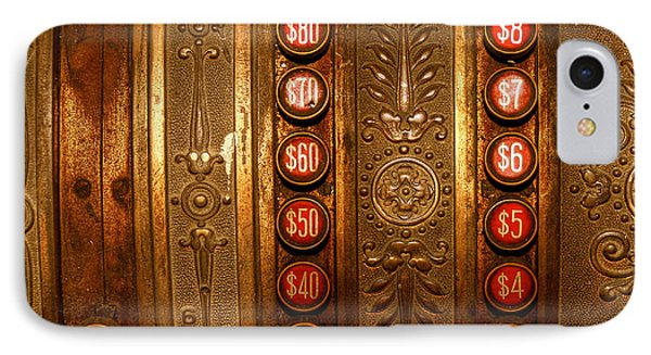 IPhone Case featuring the photograph Cash Register by Trey Foerster