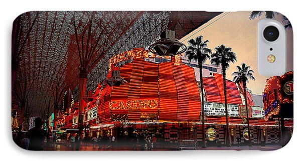 Casino Fremont Street Las Vegas IPhone Case