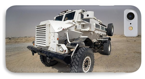 Casper Armored Vehicle Sits Phone Case by Terry Moore