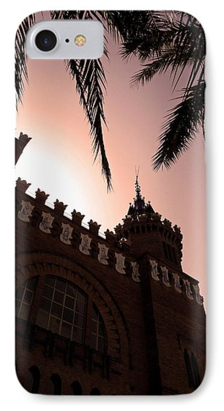 IPhone Case featuring the photograph Castell Dels Tres Dragons - Barcelona by Juergen Weiss