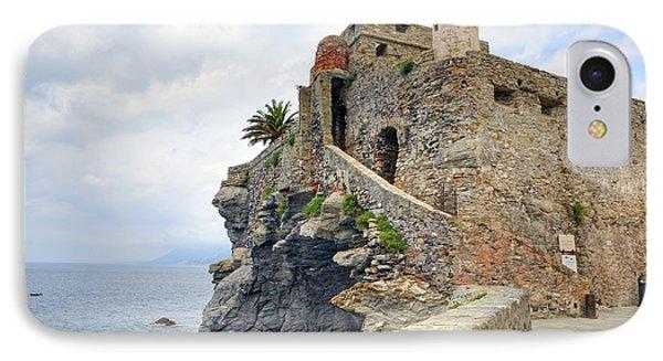 Castello Della Dragonara In Camogli Phone Case by Joana Kruse