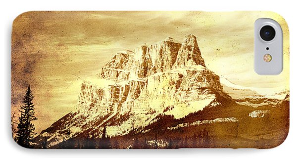 Castle Mountain IPhone Case by Alyce Taylor