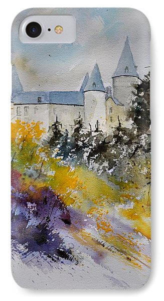Castle Of Veves Belgium Phone Case by Pol Ledent