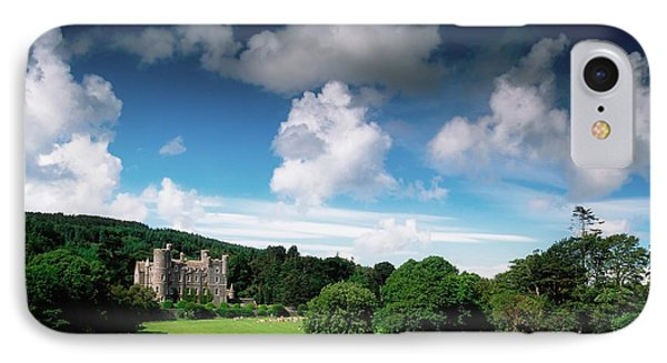 Castlewellan Castle & Lake, Co Down Phone Case by The Irish Image Collection