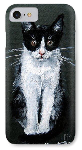 Cat I Phone Case by Mona Edulesco