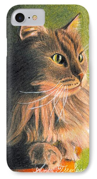 Cat Miniature IPhone Case by Ana Tirolese
