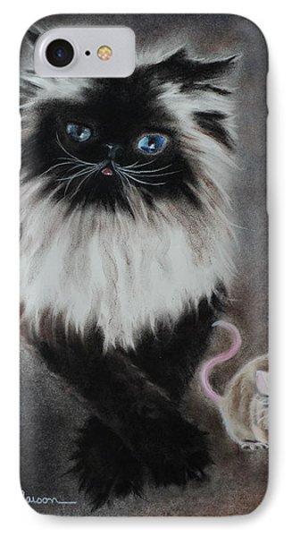 Cat N Mouse Say Cheeeeeeese IPhone Case
