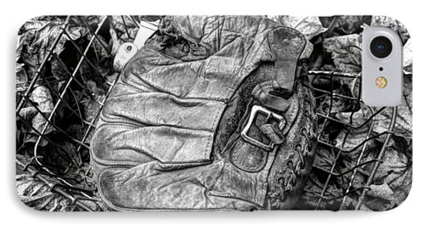 Catcher's Mitt And Bike Basket IPhone Case by Janice Adomeit