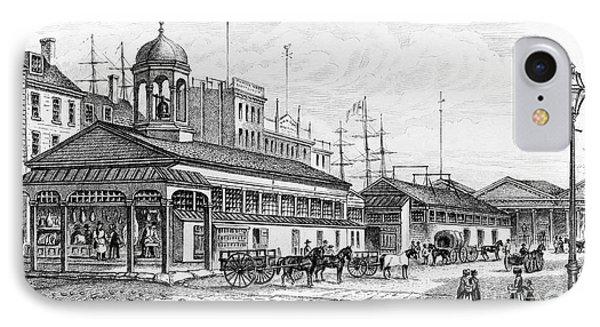 Catharine Market, 1850 Phone Case by Granger