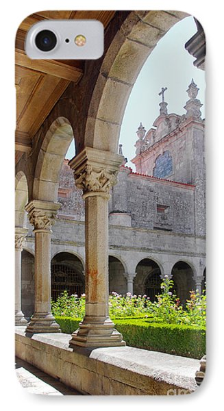 Cathedral Cloister Phone Case by Carlos Caetano