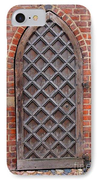 Cathedral Door In Gdansk Phone Case by Sophie Vigneault