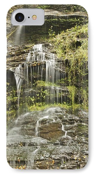 Cathedral Falls 3249 Phone Case by Michael Peychich