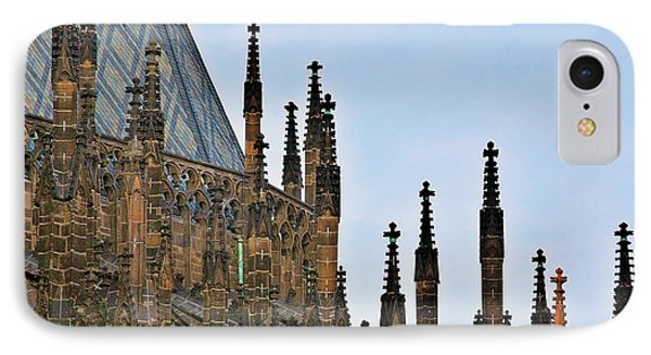 Cathedral Of Ss Vitus - Prague Castle Hradcany - Prague Phone Case by Christine Till
