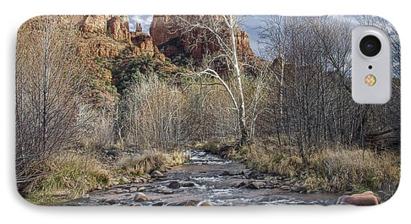 Cathedral Rock In Sedona IPhone Case by Randall Nyhof