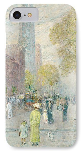Cathedral Spires Phone Case by Childe Hassam
