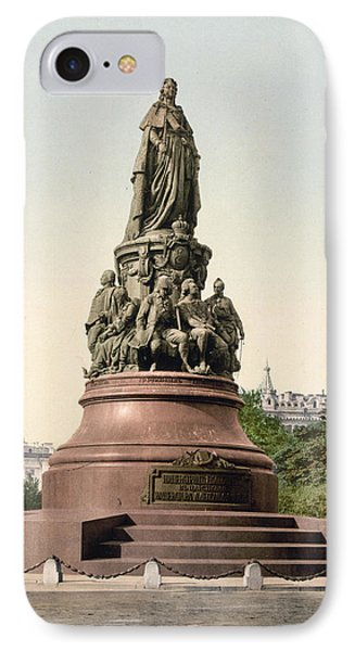Catherine II Monument In St. Petersburg Russia Phone Case by International  Images