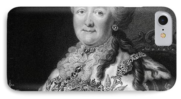 Catherine The Great, Empress Of Russia Phone Case by Middle Temple Library