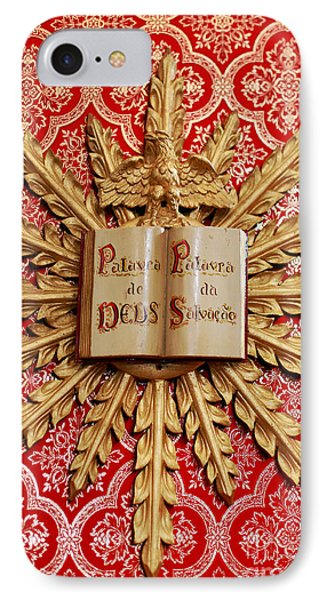 Catholic Church Decorations Phone Case by Gaspar Avila