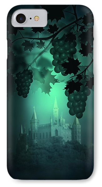 Catle And Grapes IPhone Case by Svetlana Sewell
