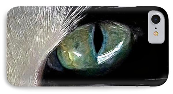Cat's Eye IPhone Case by Dale   Ford