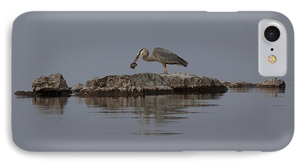 IPhone Case featuring the photograph Caught One by Eunice Gibb