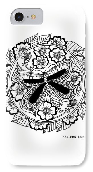 Cd 8 Black Butterfly IPhone Case